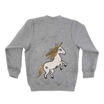 UNICORN GREY bomber jacket | DEAR SOPHIE