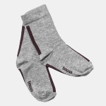 SOCKS gray/burgund | BOOSO