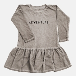 ADVENTURE dress beige | BOOSO