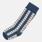 SOCKS GRID blue/dark blue | BOOSO