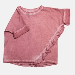 FRILL tee light pink | BOOSO
