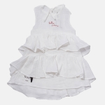 WAVE dress white | BOOSO