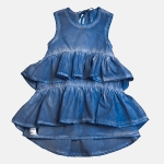 WAVE colddye dress blue | BOOSO