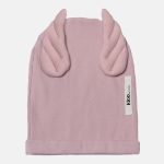 RIBBING BEANIE WINGS dusty pink | BOOSO