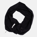 TWISTED TUBE SCARF black | BOOSO