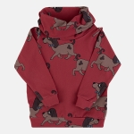 DOGGIE red tube sweatshirt | DEAR SOPHIE