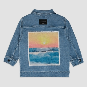 THE SUNSET jeans jacket | MINIKID