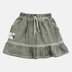 FRILL skirt dark green | BOOSO