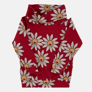 DAISY red tube sweatshirt | DEAR SOPHIE