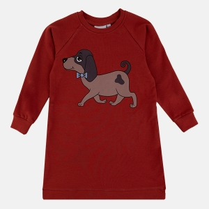DOGGIE red tunic | DEAR SOPHIE