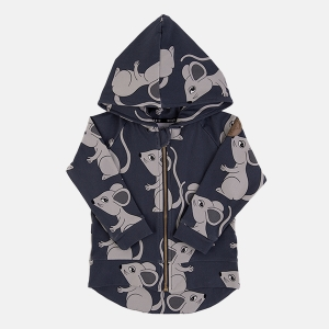 MOUSE navy hoodie | DEAR SOPHIE
