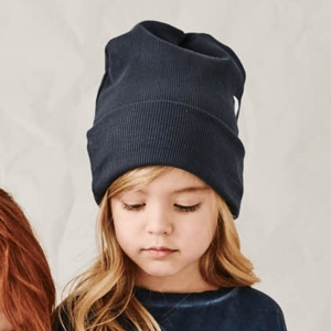 RIBBING beanie antracite | BOOSO