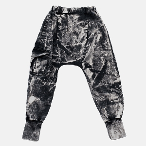 FRINGLE ACID pants black | BOOSO